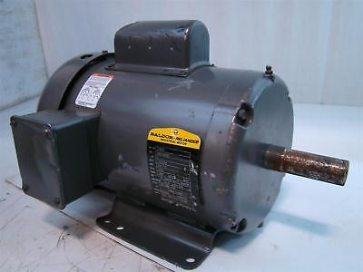 Baldor Reliance Industrial Motor 2hp 115230v 2311.5amps 1725rpm 60hz 1ph L3605
