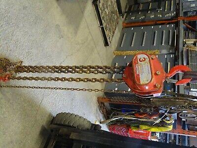 Coffing 3-ton Chain Hoist Manual Chain Fall Model Lhh