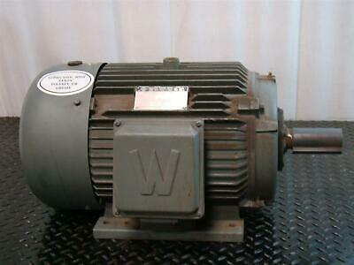 Worldwide Industrial Electrical Motor 3 Phase 10hp 230460v 1180rpm Wwe10-12-256