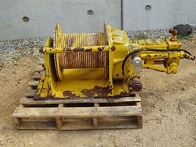Samiia Hydraulic Winch 2620dan 50 Mmm Max Cap 130m Diam 13.5mm Hb850406