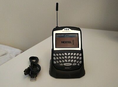 7520 Blackberry (RARE BlackBerry 7520 Black NEXTEL iDEN Smartphone collectors item 7510 )
