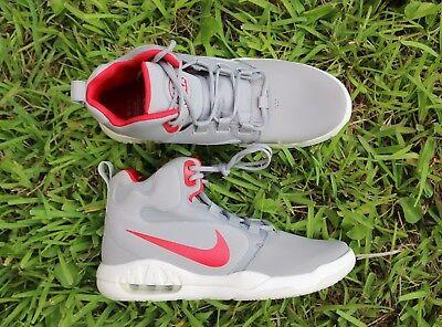 NEW Nike Mens 12 Air Max Conversion Men's Basketball Shoes Silver [861678-004]