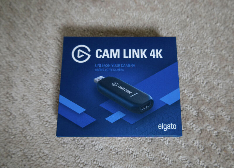 Elgato CamLink 4K Capture Device HD Recording / Streaming