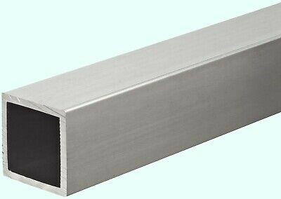 Aluminum Hollow Square Tube 1 I.d. X 1-14 O.d. X 36 Long 18 Wall