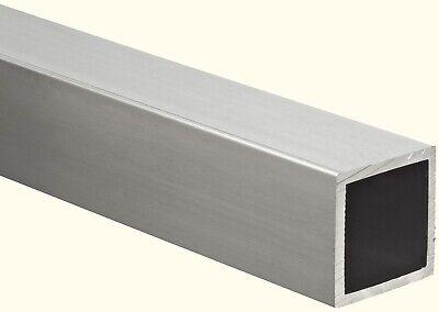 Aluminum Hollow Square Tube 34 I.d. X 1 O.d. X 72 Long 18 Wall