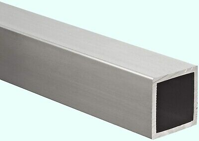 Aluminum Hollow Square Tube 78 I.d. X 1 O.d. X 72 Long 116 Wall