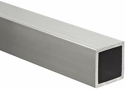 Aluminum Hollow Square Tube 12 I.d. X 34 O.d. X 36 Long 18 Wall