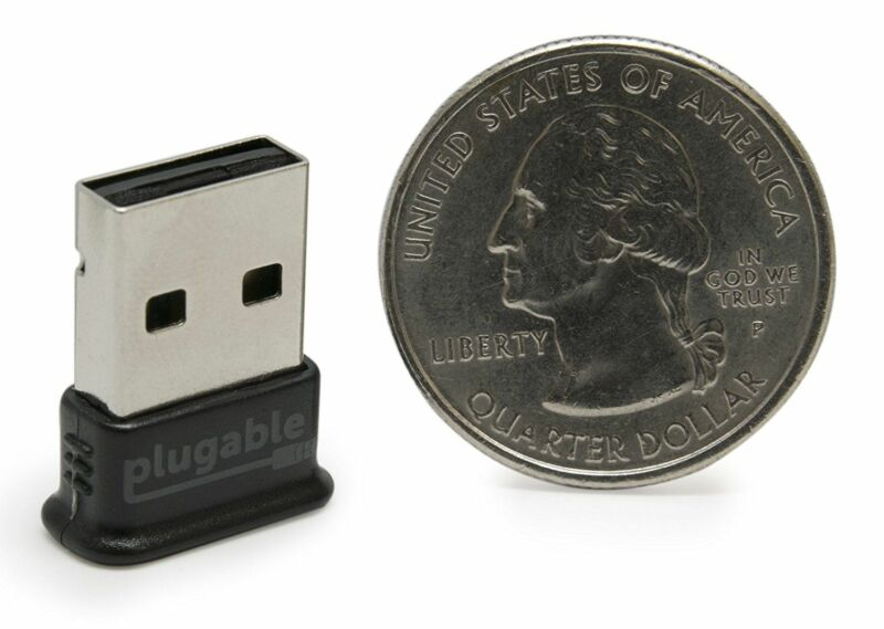 Plugable Usb Bluetooth 4.0 Low Energy Micro Adapter (Windows 10, 8.1, 8, 7, Raspberry Pi, Linux Compatible; Classic Bluetooth, & Stereo Headset Compatible) 8