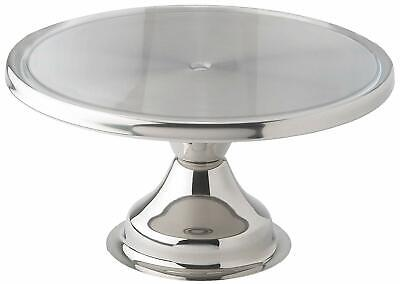 Revolving Cake Turn Table Rotating Cake Decorating Plateform Stand Aluminum 13