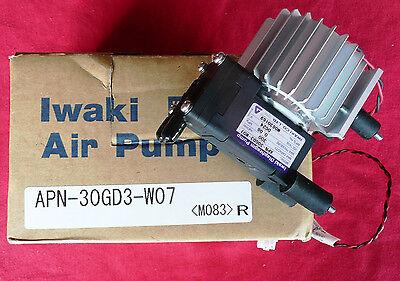 Iwaki Diaphragm Pump Apn-30gd3-w07 Vdc24 Max Pressure 0.08 Mnf. No. M0830169