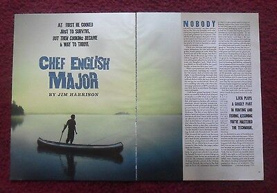 2011 Magazine Short Story 'Chef English Major' by Jim Harrison