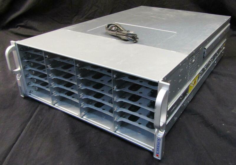 "SuperMicro 847JBOD-14 3.5"" 45 Slot Storage Array | CSE-847 | 847E26-RJBOD1"