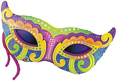 Masquerade Balloon Decorations (Mardi Gras Mask 38