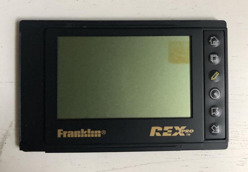 Xircom Rex Pro 5  Rex5000 PC Companion UNTESTED OLD BATTERIES STUCK READ DESCRIP