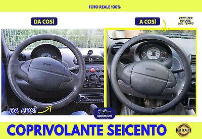 Coprivolante Fiat 600 Seicento 1998>2010 Coprivolanti Sterzo Manubrio Auto cm da
