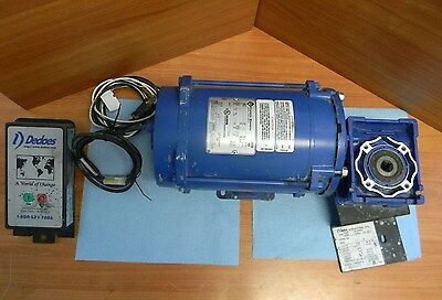 Dedoes 12 Hp 115v Paint Mixer Type Rj65 Rj88 W Franklin Motor Model 1121007441