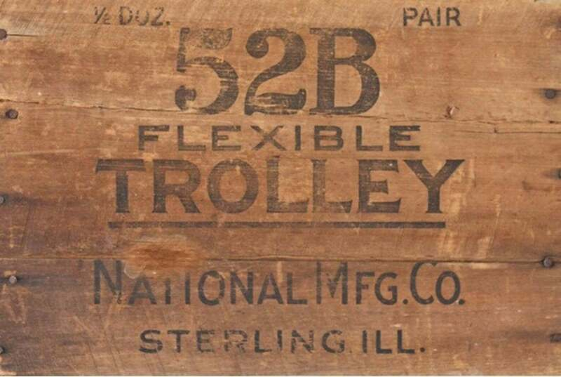 "Wood Crate ""Trolley"" decoupage by Roycycled Treasures!"