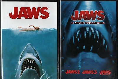 Jaws Complete Collection Series 1 2 3 4 3 Disc Set New Sealed Dvd Free Shipping