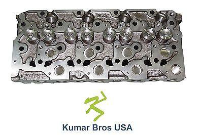 New Kumar Bros Usa Complete Cylinder Head For Bobcat S175 Kubota V2203