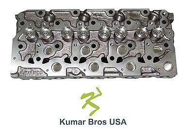 New Kumar Bros Usa Complete Cylinder Head For Bobcat 341 Kubota V2203
