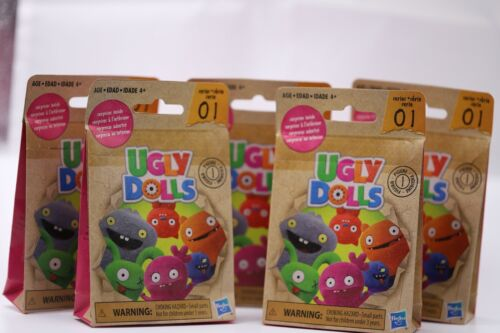 Hasbro UGLY DOLLS Blind Bags Surprise Figurine Collector Toy Series 1 - Lot of 5