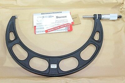 Starrett Outside Micrometer 225-250mm 0.01mm Carbide Faces