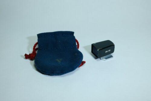 Voigtlander 28/35 mm mini-finder viewfinder - black