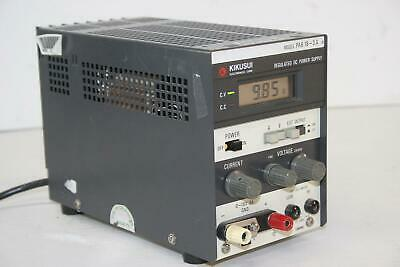 Kikusui Pab18-3a 0-18vdc 3a Regulated Power Supply