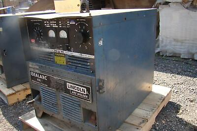 Lincoln Arc Welder Idealarc R3s Cv Dc Power Source 230460v 3 Phase Ac432940