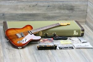 CLEAN! Fender Telecaster American Select Koa Top 2012 Natural + OHSC