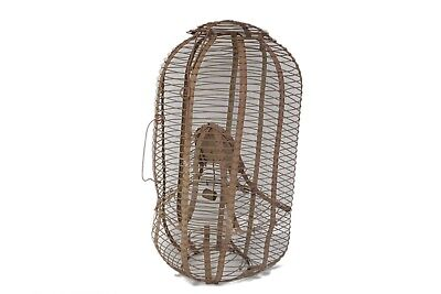 Antique Vintage Wire Bird Cage