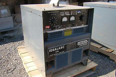 Lincoln Arc Welder Idealarc R3scv Dc 230460v 3 Phase 8045-m Ac432963