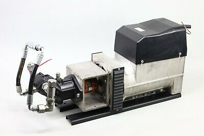 Getec Hydraulically Driven Ac Generator Hydraulic Generator With Rexroth Motor