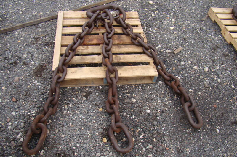 ACCO Triple Leg 145,800LB. Demolition Magnet Chain 6