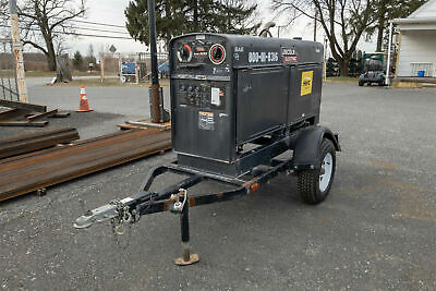Lincoln Sae-500 Diesel Welder Engine-driven Weldergenerator Kubota Turbo