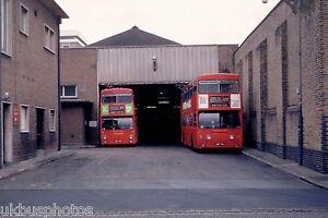 London Transport DMS171 & 79 Abbey Wood garage 1980 Bus Photo