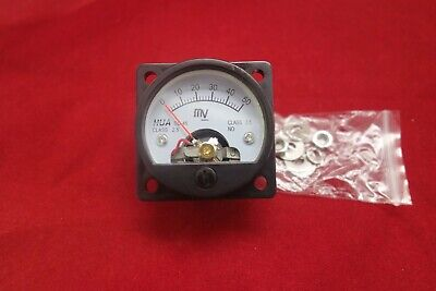 1pc Dc 0- 50mv Millivolt Analog Voltmeter Analogue Voltage Panel Meter So45
