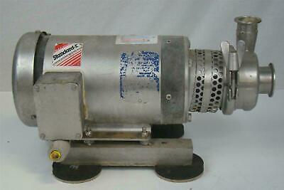 Baldor Washdown Centrifugal Pump Sanitary Tri-clamp 2hp 208-230460v 3450 Rpm