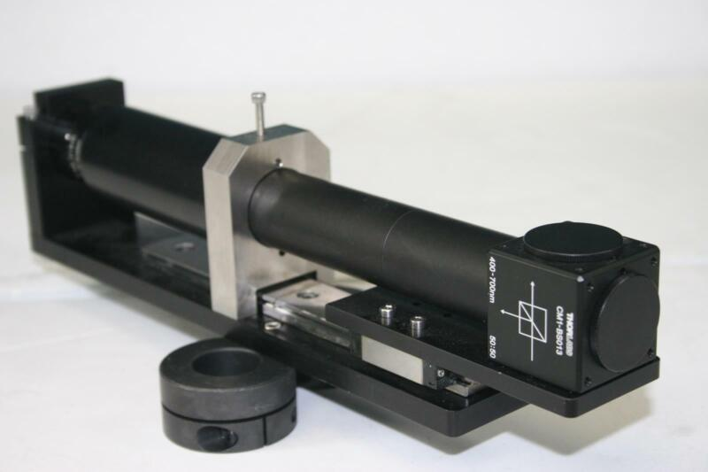 THOR LABS CM1-BS013 + Edmund Optics 59873 50mm/F2.0 + Linear Bearing Actuator