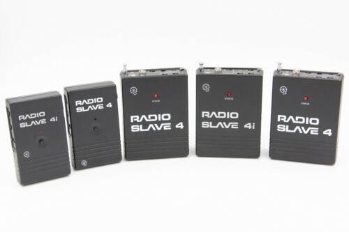 Quantum Radio Slave 4i 4 W/ Sender Units Flash Master Slave Triggering