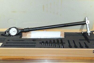 Fowler Bowers Dial Cylinder Bore Gage Gauge Kit 6-12 Range 0.0005 15 Depth