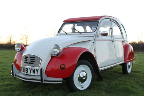1988 citroen 2 cv dolly 39 deux chevaux 39 classic original fully restored ebay. Black Bedroom Furniture Sets. Home Design Ideas