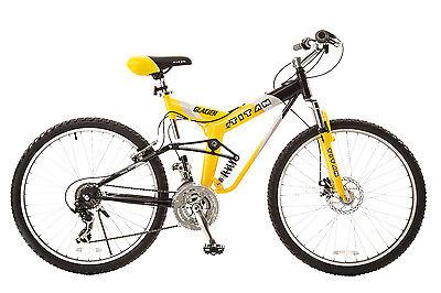 Titan Bicycles Yellow Glacier Pro 21 speed, 19 Inch Frame Mountain Bike