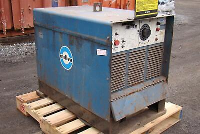 Miller Gold Star 400ss Direct Current Arc Welding Power Source 7638amperes 19.8