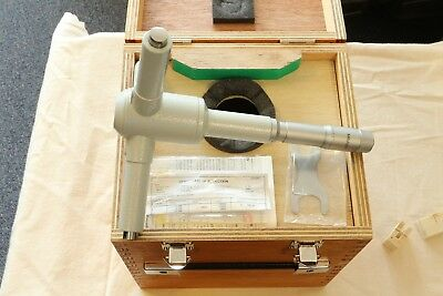 Mitutoyo Holtest Type Ii Inside Micrometer Hole Bore Gage Gauge 9-10 0.0002