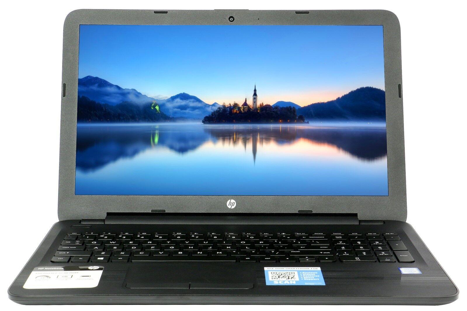New HP 15.6 4GB Ram 500GB HD Quad Core AMD DVD RW Windows 10 Webcam HDMI 10Key