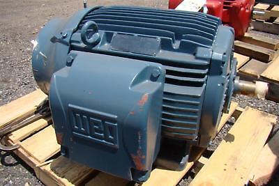 Weg W22 Nema Premium 60ho Electric Motor Ph3 380v 80a 3556rpm Frame 3645ts