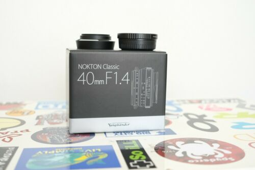 Voigtlaender Nokton Classic Lens 40 mm F1.4 Leica M Mount - Fuji X Adaptor - MC