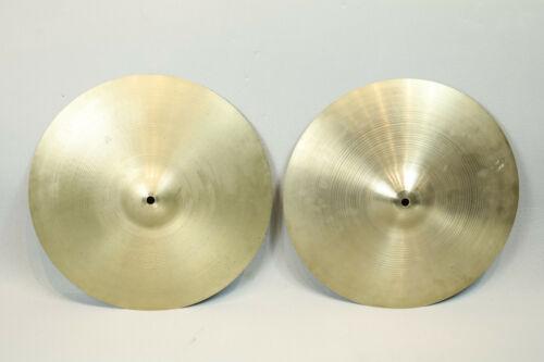"Vintage Avedis Zildjian 15"" Hi Hats 1960"