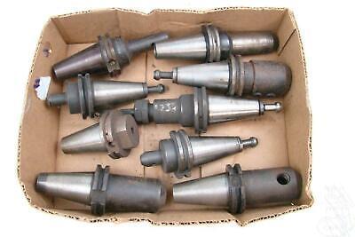 9 Lot Of Cat 40 Tool Holders